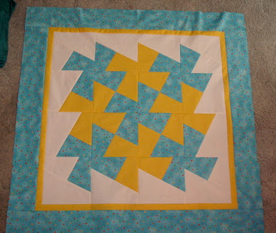 Sunshower Quilts: Easy Baby Quilt with the Large Twister Ruler : easy first quilt - Adamdwight.com