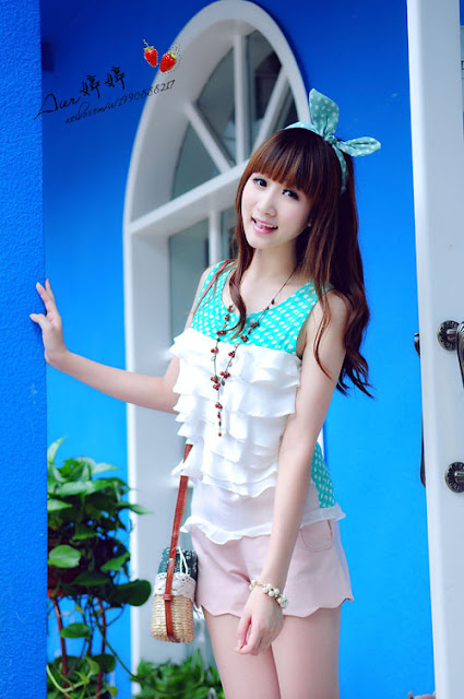 4 2012 autumn-Very cute asian girl - girlcute4u.blogspot.com