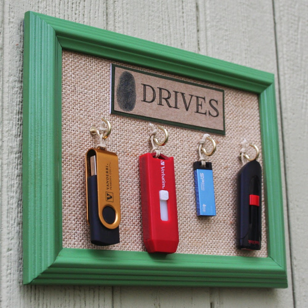 Genius idea for organizing all your flash drives.