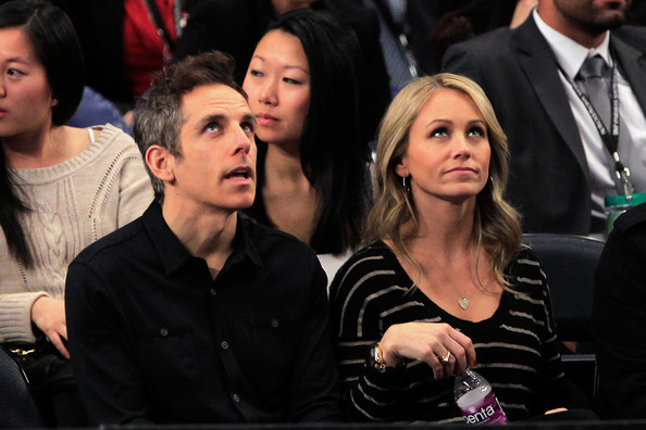 Ben Stiller And His Wife Christine Taylor Pictures In 2012 ...