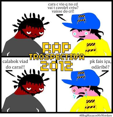 """O Blog """"Macacos Me Mordam"""" Lança a Mixtape Rap - Trospectiva [2012]"""