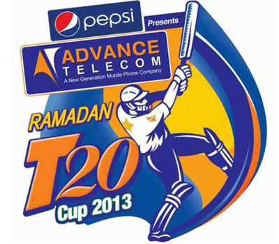 Advance Telecom Ramadan 2013 Schedule, Ramadan T20 Fixtures 2013,