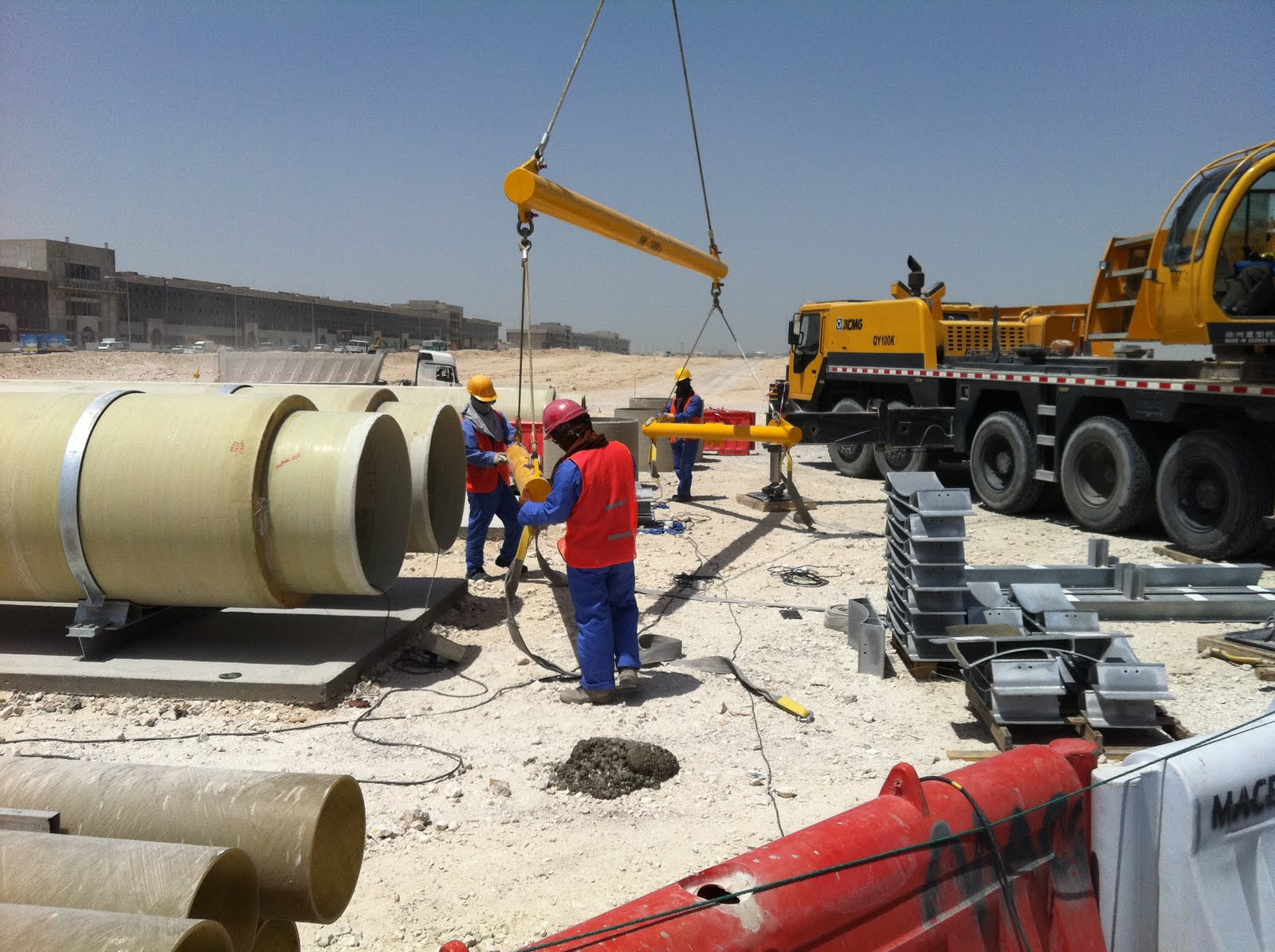Rinker Materials Concrete Pipe Handling : Qatar culture club a sociological perspective on