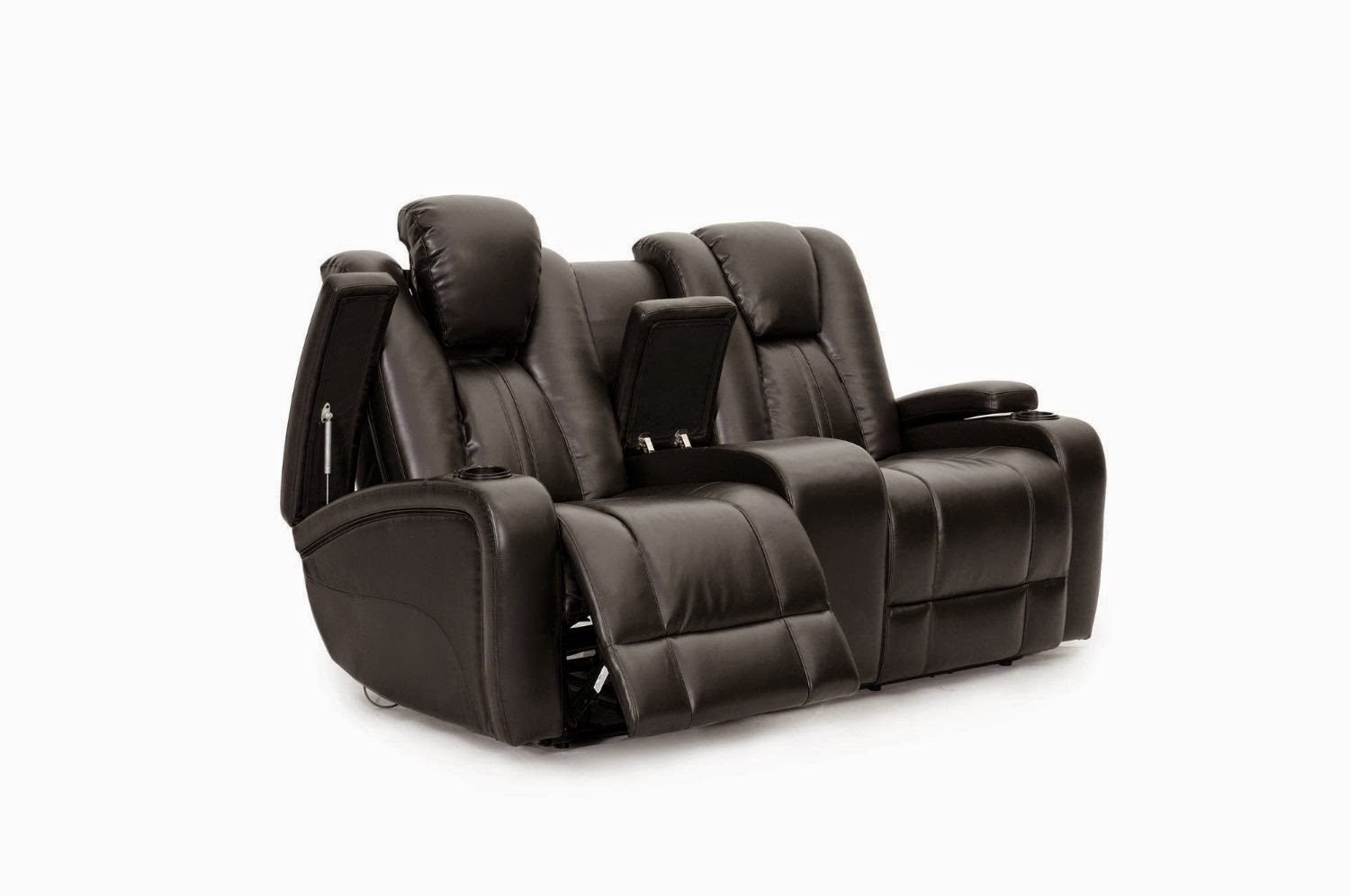 Top modern reclining sofa reviews reclining sofa with drop down table seatcraft transformer reclining loveseat with power and console geotapseo Choice Image