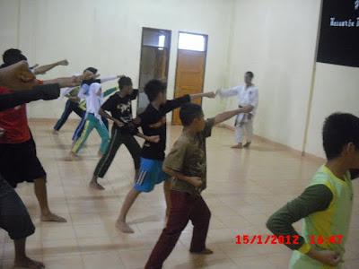 Kegiatan Anak Asuh - Olahraga Beladiri Karate