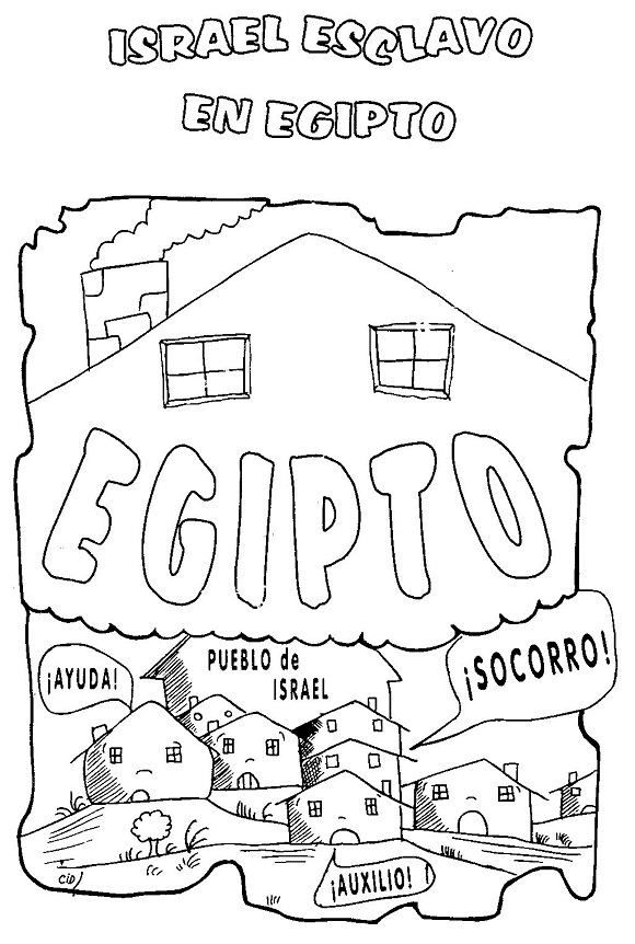 Fantástico Páginas Para Colorear Egipcio Imprimibles Ilustración ...