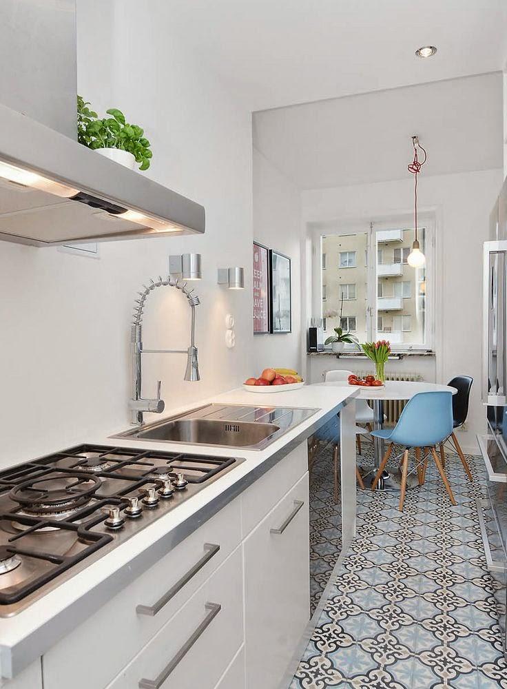 Espinosa ba o cocina hidr ulico la geometr a que rebosa - Azulejos hidraulicos cocina ...
