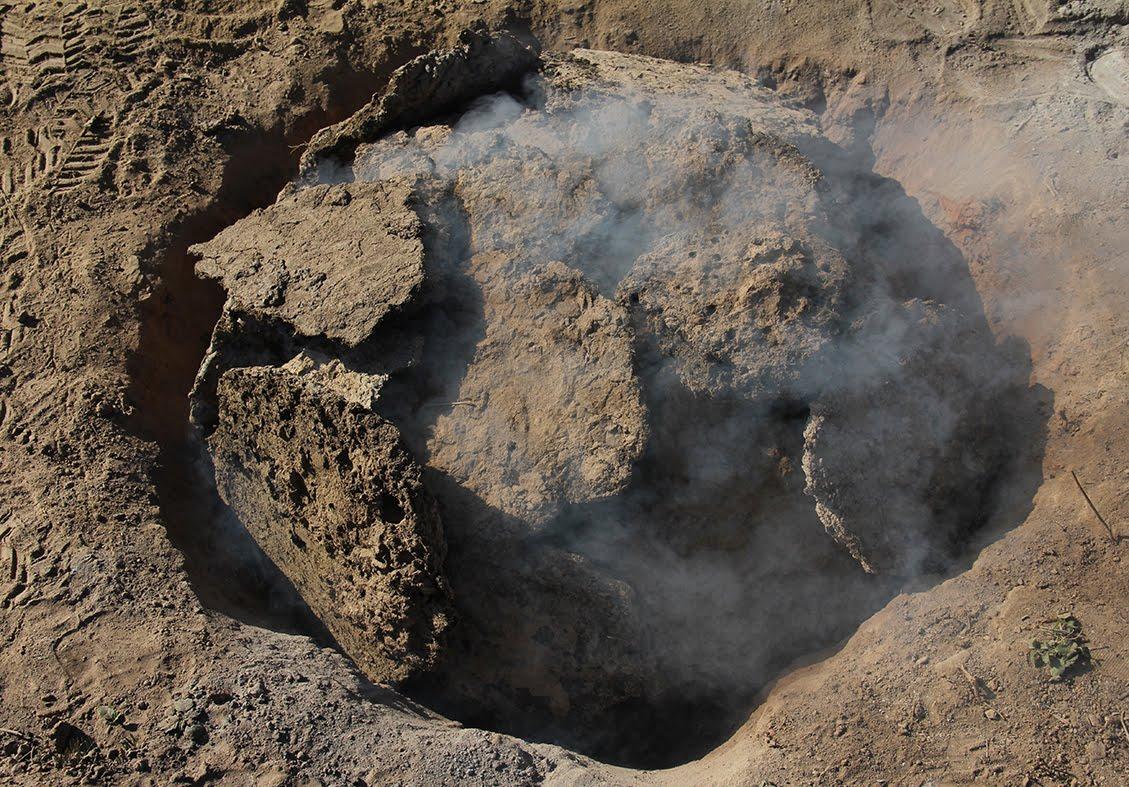 Viaje al Chaco Salteño y trabajo de horneado de tierra