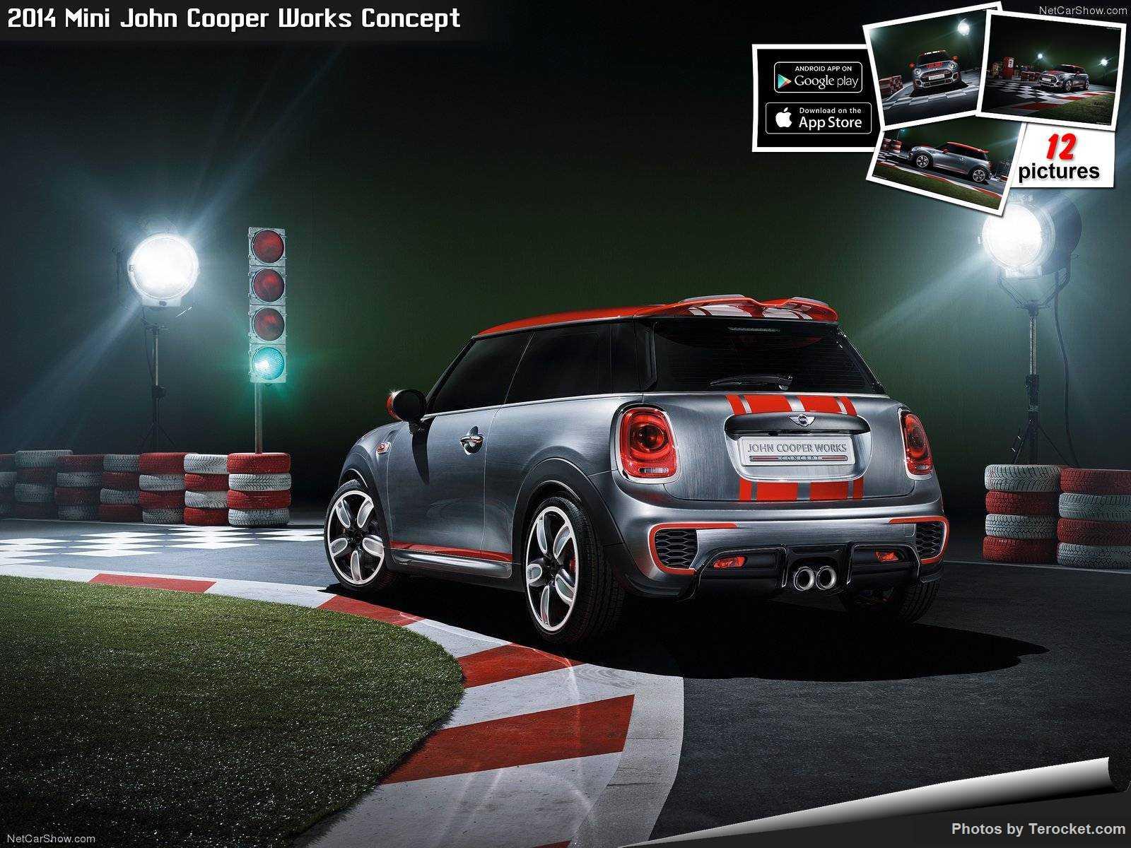 Hình ảnh xe ô tô Mini John Cooper Works Concept 2014 & nội ngoại thất