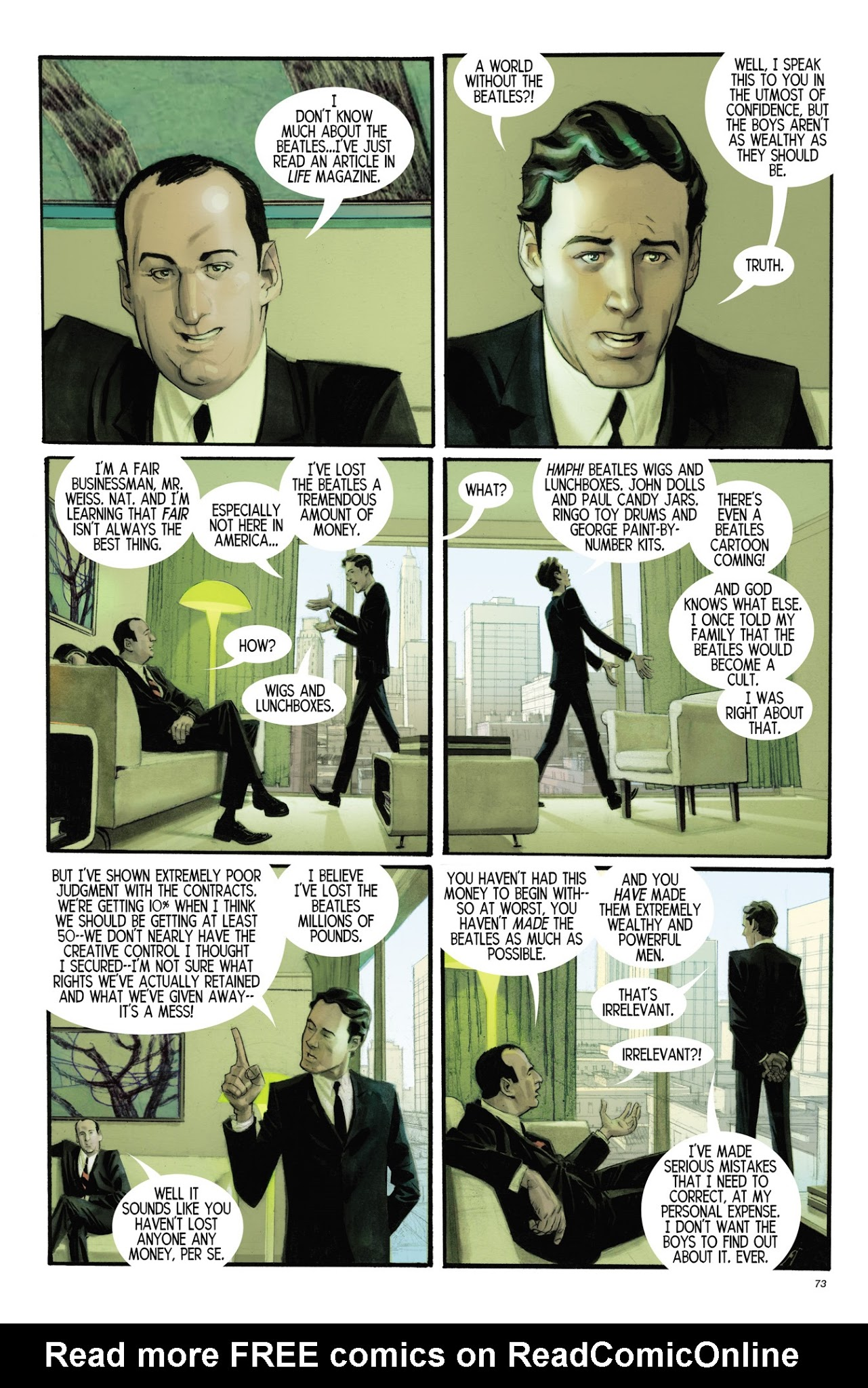 The Fifth Beatle: The Brian Epstein Story chap tpb pic 67