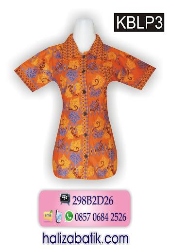085706842526 INDOSAT, Batik Cantik, Koleksi Baju Batik Wanita, Atasan Batik, KBLP3, http://grosirbatik-pekalongan.com/blus-kblp3/