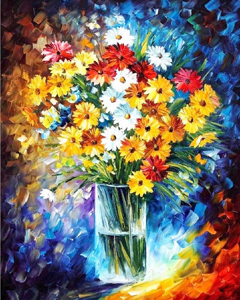 flores-pintadas-con-espatula