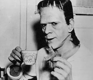 boris karloff tea film breakfast té frankenstein