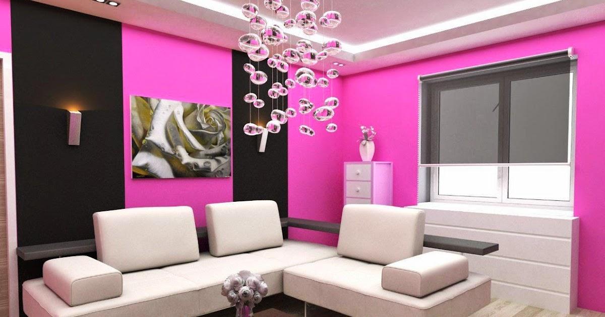 How To Design A Pink Living Room | Ideas for home decor