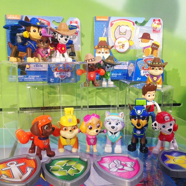 New Spin Toys : Nickalive danilo unveils new quot paw patrol range