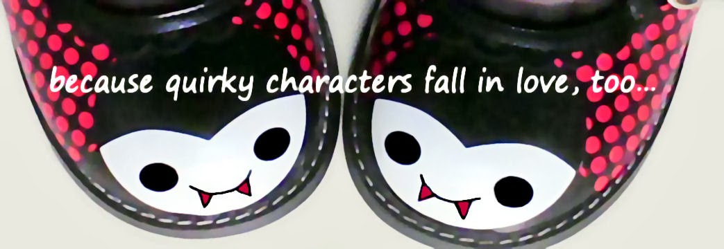 because quirky characters fall in love, too...