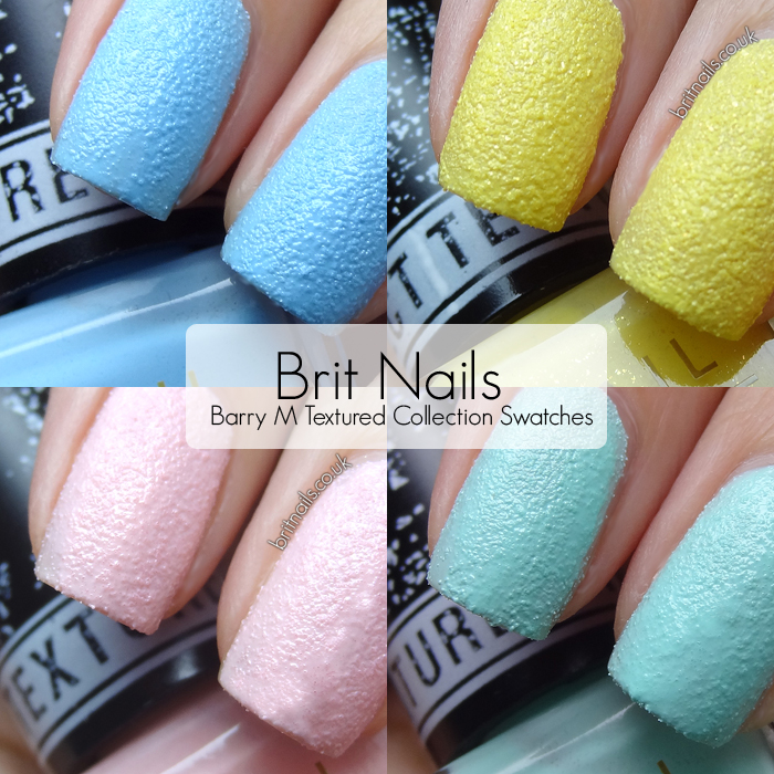 Effect Texture Barry m Textured Nail Effects