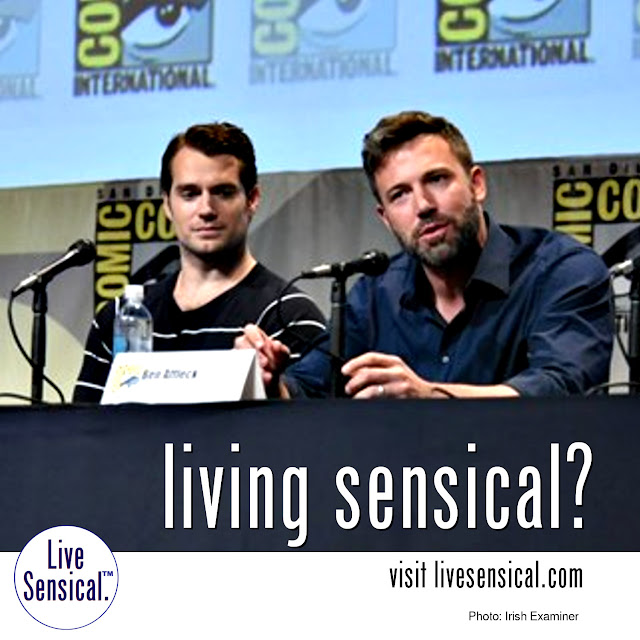 Batman v. Superman - The Dawn of Justice. Trailer released at San Diego Comic-con. Crowd goes wild. Should they? Visit livesensical.com