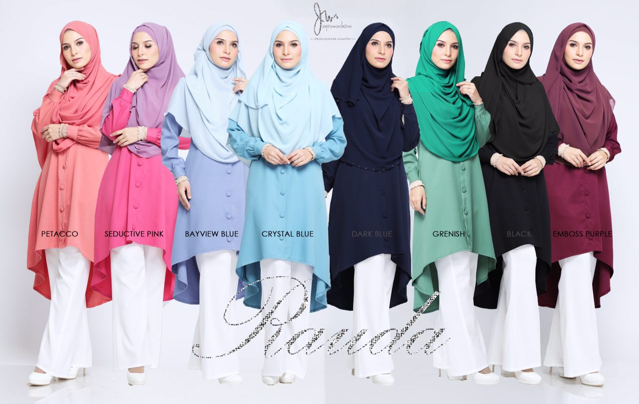 BEST SELLER Rauda Long Top Dah restock!!