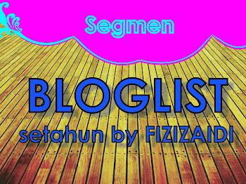 segmen: Pencarian Bloglist Blog Fizizaidi