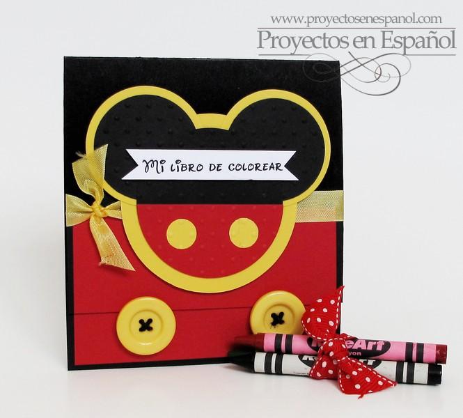 LIBRO PARA COLOREAR DE MICKEY MOUSE O COLORING BOOK
