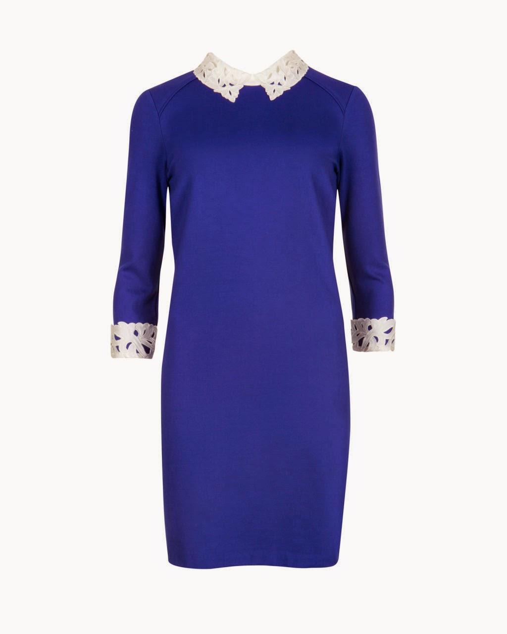 ted baker blue dress