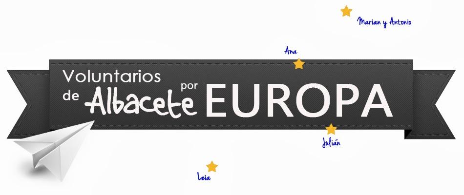 VOLUNTARIOS DE ALBACETE POR EUROPA