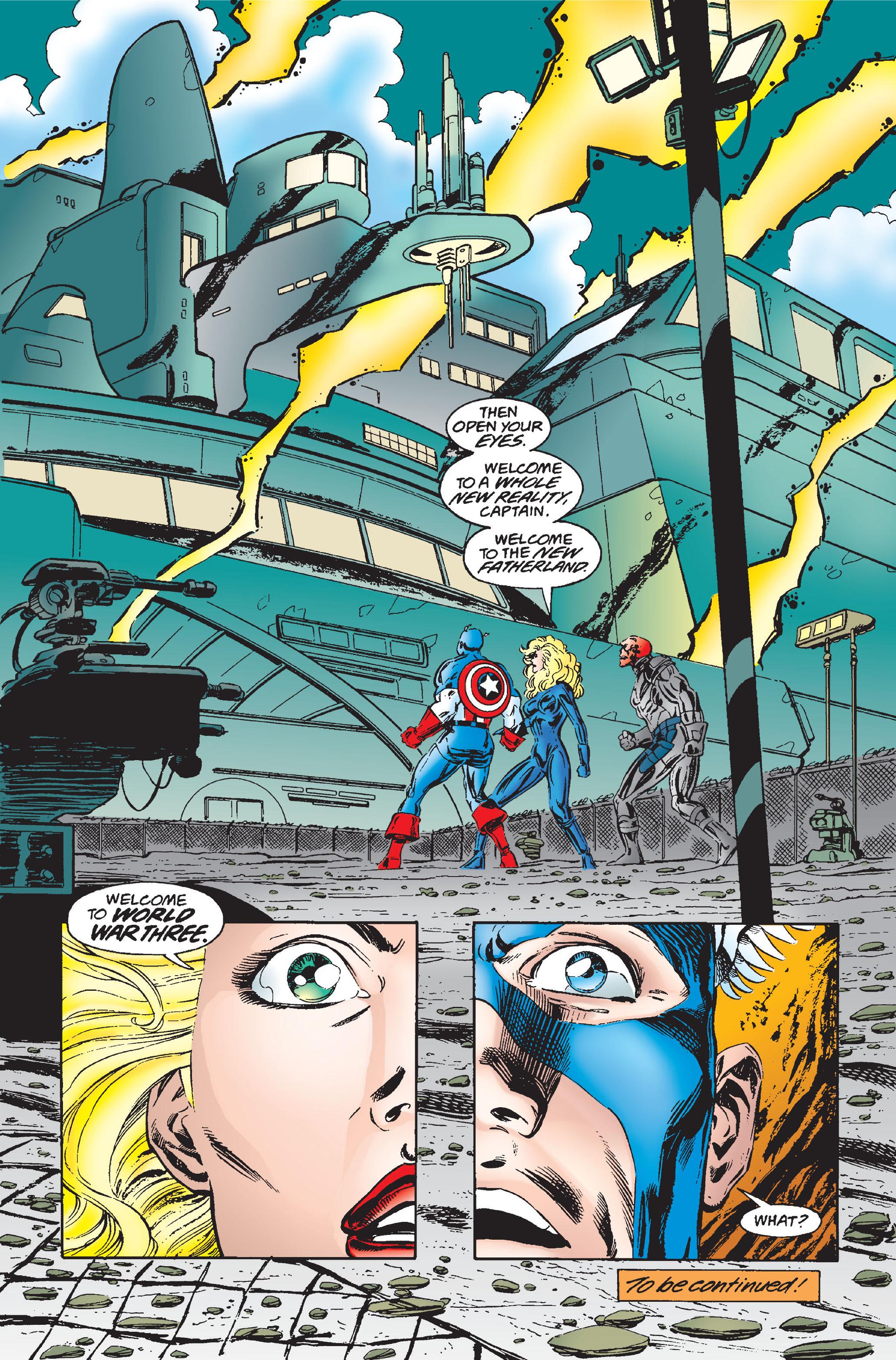 Captain America (1968) Issue #445 #399 - English 21