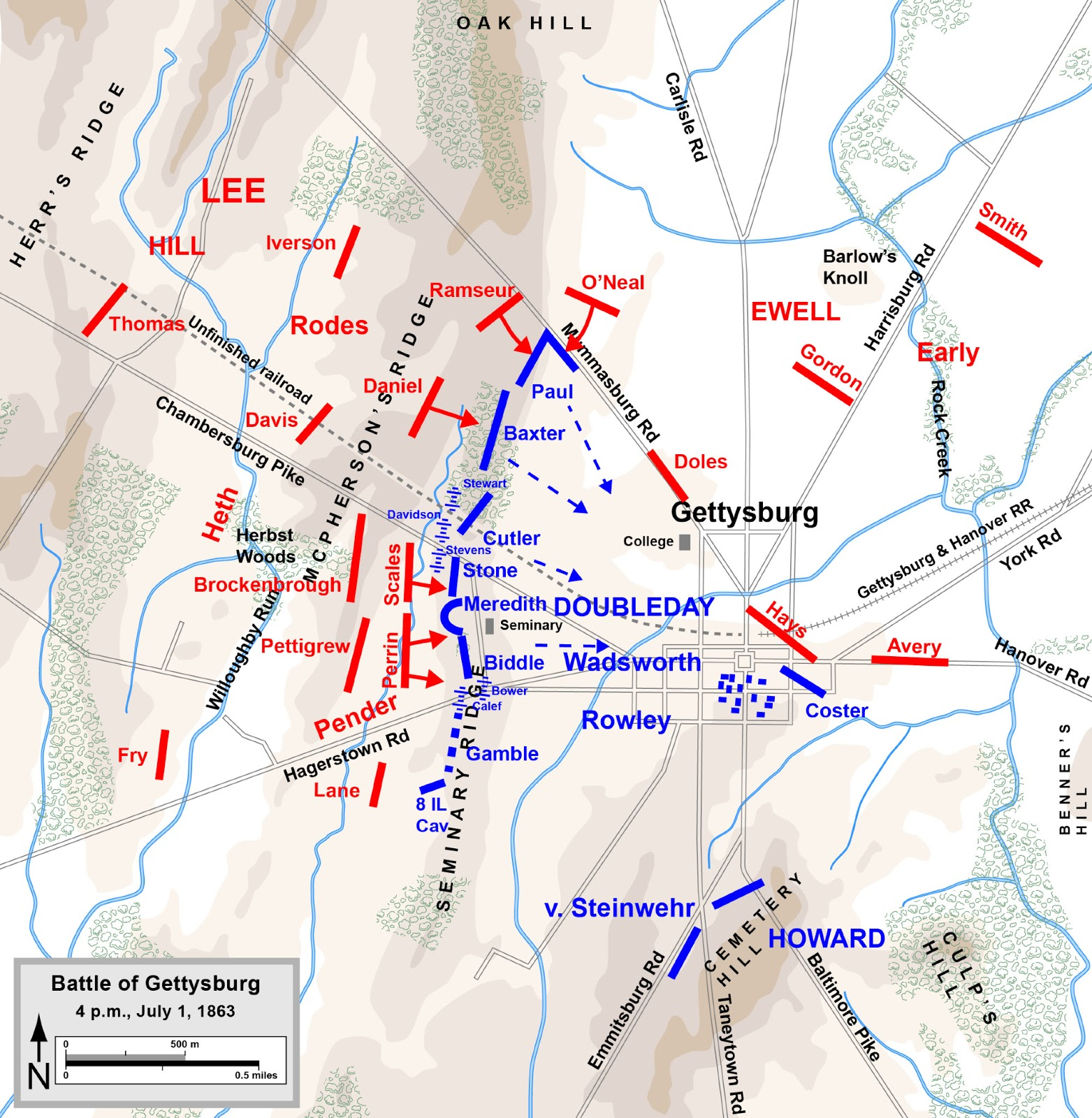 "the decisive engagement at the battle of gettysburg Yet the battle of gettysburg has become the iconic battle of the american civil war often described as the war's decisive battle, the turning point of the war, or the ""high tide of the confederacy"", it is by far the most written about engagement of the war."