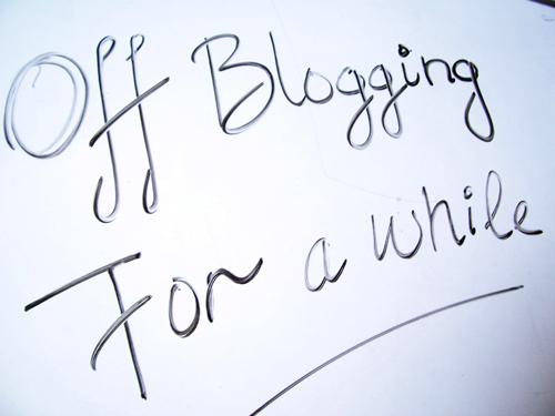 Off_Blogging_white_board_messege