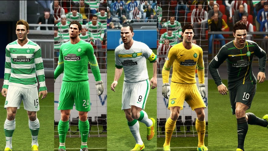 PES 2013 Celtic 14-15 GDB Update by Vulcanzero