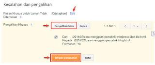 cara redirect url blog baru tanpa kehilangan trafik