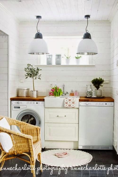 In mansarda da noi bagno o lavanderia un p shabby un p - Bagno in mansarda non abitabile ...