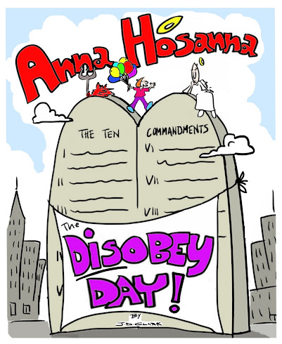 Anna Hosanna DISOBEY HOLIDAY!