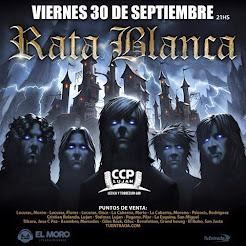 """RATA BLANCA EN EL """"CCP LUJÁN"""" - 30/09/2016"""