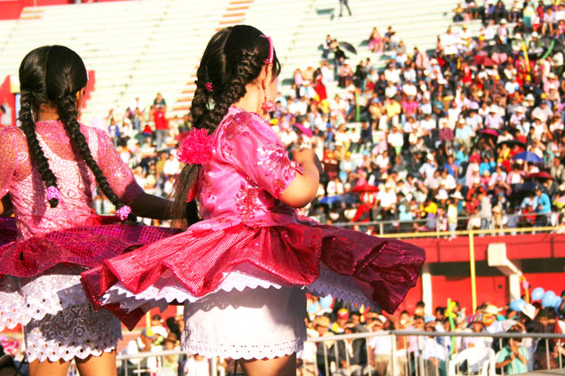 Cholitas de Cochabamba