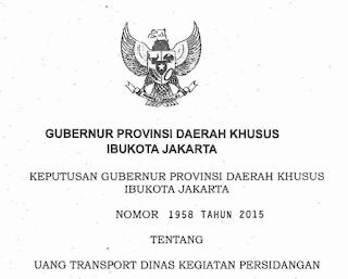 Uang Transport Dinas