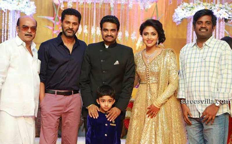 Celebs at Amala Paul and Director Vijay Marriage Reception
