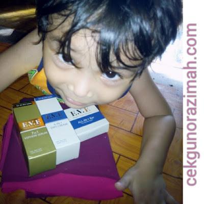 hadiah giveaway, hadiah percuma, produk eve