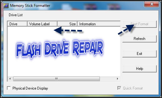Memory Stick Pro Duo Formatter Utility download