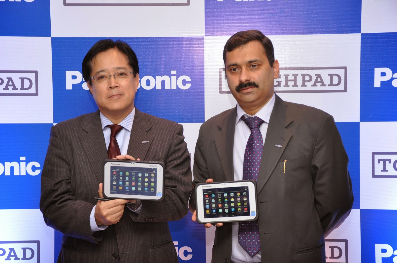 Mr. Gunjan Sachdev, General Manager, National Business Head (Toughbook Division) and Mr. Toru Hasegawa, Divisional Managing Director, Solutions Division, Panasonic India