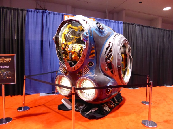 Guardians of the Galaxy space pod D23 Expo