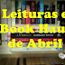 Leituras e Book Haul de Abril