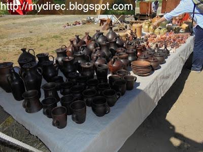 Фестиваль Древний Рим - изделия из глины