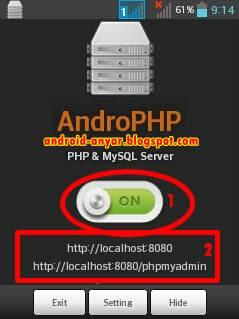 Cara Mudah Instal Pasang Localhost di HP Android