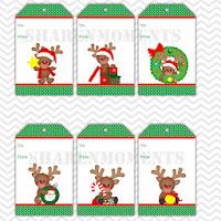 Sharenmoments: Christmas DIY Printable Tags