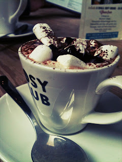 babyccino at the cosy club