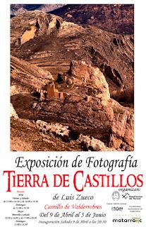 Cartel exposición en el Castillo de Valderrobres