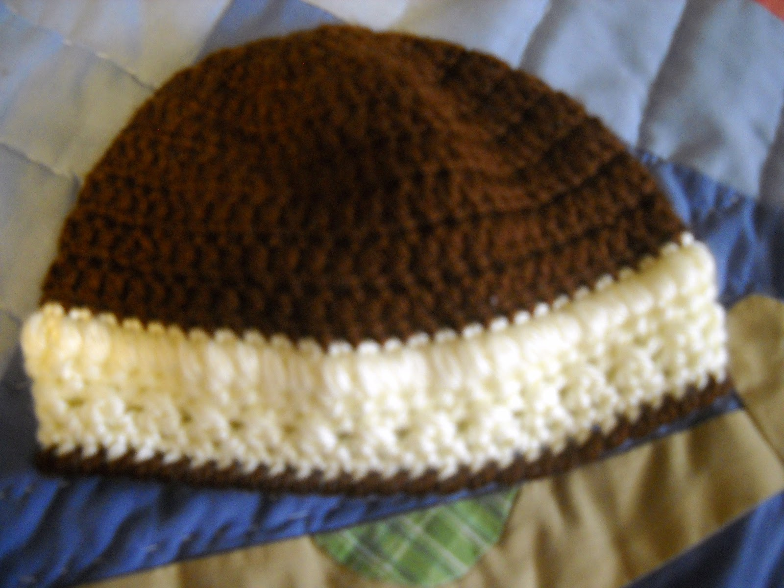 Crochet X And O Pattern : and Os Infant Beanie Style Hat Pattern