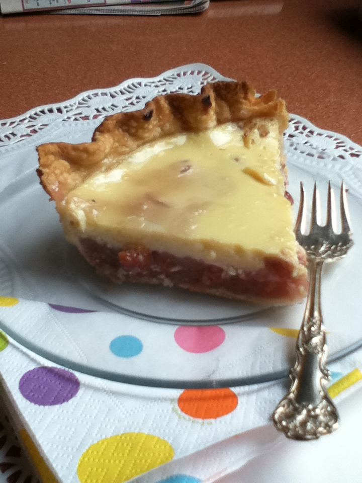 The Pie Dish: Tillie's Cherry Custard Pie
